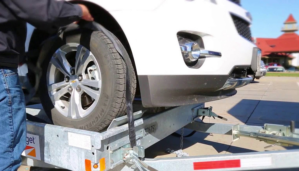 Car Carrier and Car Trailer Rental | Budget Truck Rental