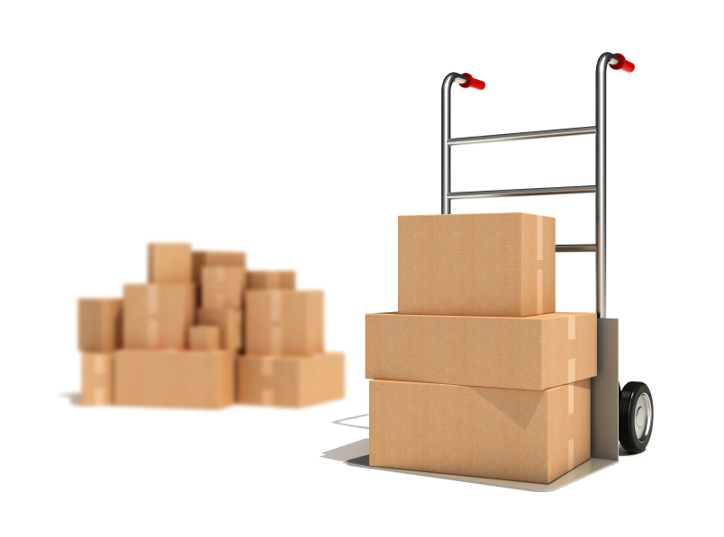 Moving equipment hand truck furniture pads budget truck for Furniture hand truck