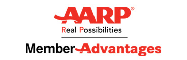 AARP member discount, Save up to 20%
